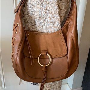 Beautiful Nine West leather shoulder bag